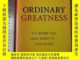 二手書博民逛書店Ordinary罕見greatness psychology o