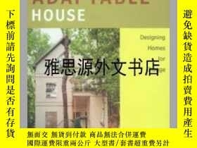 二手書博民逛書店【罕見】The Adaptable House : Design