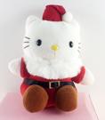 【震撼精品百貨】Hello Kitty 凱蒂貓~聖誕絨毛擺飾-kitty圖案-玩偶袋