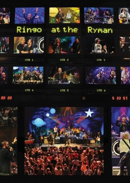 林哥史達 搖滾之夜 DVD Ringo Starr and His All Starr Band  Ringo at