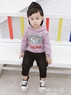 寶寶抓絨衛衣加厚2018新款韓版卡通休閒連帽上衣嬰兒衣服男童冬裝  嬌糖小屋