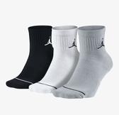 NIKE配件系列-U J EVERYDAY MAX ANKL 3PR 三色ㄧ組 運動襪-NO.SX5544017