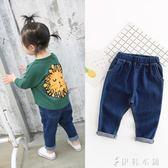 牛仔褲 女童牛仔褲子2女寶寶3歲1打底小童嬰兒0女寶外穿韓版潮 伊鞋本鋪