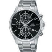 【僾瑪精品】ALBA 台灣限定款 三眼計時不鏽鋼時尚腕錶/43mm/AM3465X1/VD57-X107D