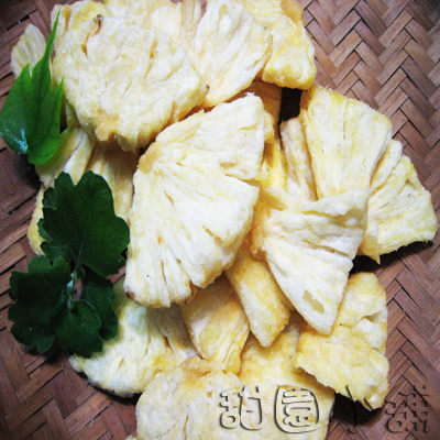 鳳梨脆片 大包裝 200g 水果餅乾 乾燥水果 脫水水果 水果脆片 素食 【甜園】
