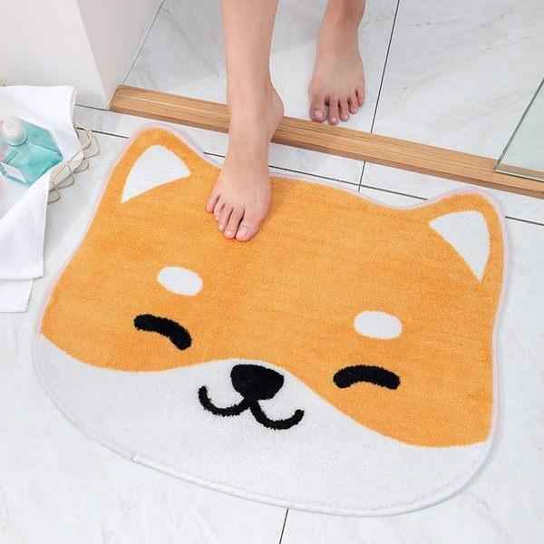 時尚創意地墊300 廚房浴室衛生間臥室床邊門廳 吸水長條防滑地毯(50*60cm)