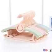 【貝貝】兒童衣架 衣服掛 多功能 防滑 晾曬衣架