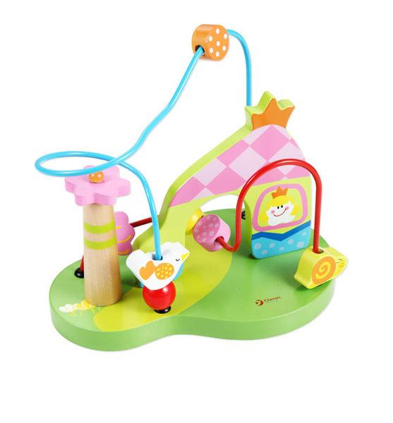 (小瑕疵)木製玩具 幼兒學習益智玩具 classic world 公主串珠