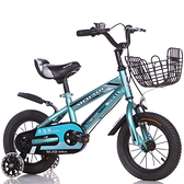 腳踏車兒童自行車12-14-16-18-20寸男女孩寶寶帶後座腳踏童車【618店長推薦】