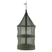 【速捷戶外】美國Coleman CM-26811 魔術掛網II (綠色) /食物餐具置物吊籃 可通風快速晾乾