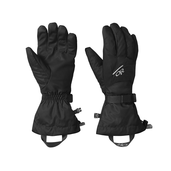 [OUTDOOR RESEARCH] (男) Adrenaline Gloves 防水保暖手套 黑 (OR243248-0001)