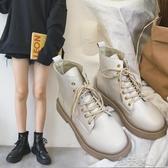 短靴薄款百搭英倫風馬丁靴透氣短靴【快速出貨】