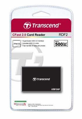 【聖影數位】Transcend 創見 RDF2 CFast 2.0 讀卡機 USB 3.0 公司貨
