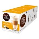 DOLCE GUSTO 拿鐵咖啡膠囊16顆/盒 16顆膠囊(單盒) X 3盒