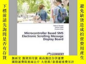 二手書博民逛書店Microcontroller罕見Based SMS Electronic Scrolling Message D