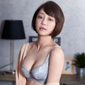 【華歌爾】摩奇 雙挺胸罩D-E罩杯調整型內衣(岩石灰)
