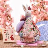 音樂盒日本音樂盒八音盒和風兔送女生生日日式創意結婚七夕情人節禮物 LH5065【3C環球數位館】