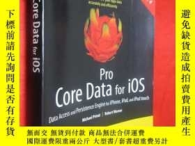 二手書博民逛書店Pro罕見Core Data for iOS: Data Acc