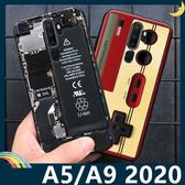 OPPO A5 A9 2020 復古偽裝保護套 軟殼 懷舊彩繪 計算機 鍵盤 錄音帶 矽膠套 手機套 手機殼 歐珀