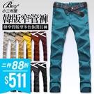 韓版窄管版型休閒長褲(尺寸28~34賣場)【NW765054】