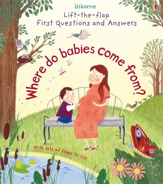 Lift-The-Flap First Questions And Answers:Where Do Babies Come From? 我的第一本Q&A:出生的問與答