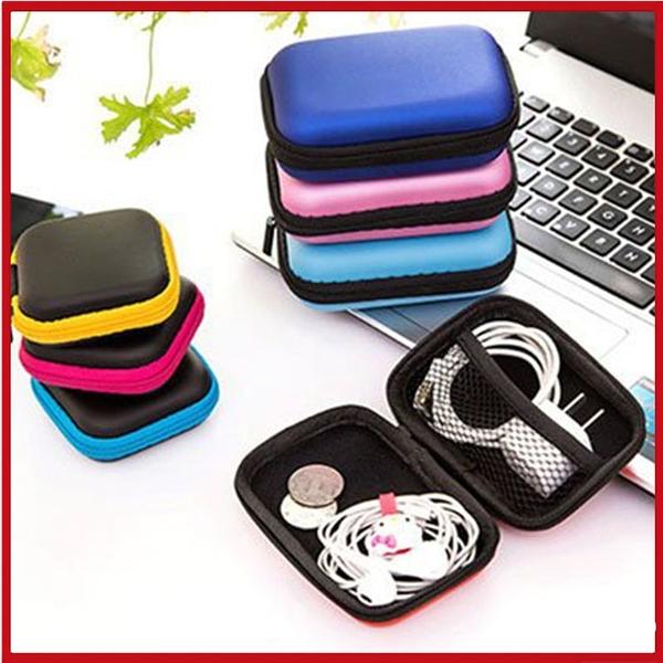 <特價出清>3C充電器耳機記憶卡收納盒 輕巧收納包 (4吋適用)【AE08216】i-Style居家生活