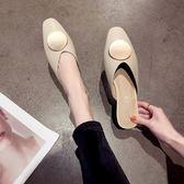 女穆勒鞋涼拖鞋女外穿2019春季新款韓版百搭時尚平底包頭半拖鞋網紅穆勒鞋