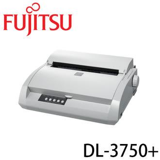 FUJITSU DL-3750+ USB介面 並列介面點陣式印表機 80行,480cps,128K暫存,複印5份(含原稿)輕巧.超靜音