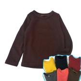【韓版童裝】保暖圓領毛毯毛保暖衣-咖啡【BO141201005】