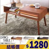 收納櫃 置物架 茶几桌 和室桌【Q0050】Victoria雙色調強化玻璃茶几(三色)  MIT台灣製 收納專科
