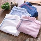 男童短袖T恤夏裝薄款寶寶竹節棉打底衫上衣童裝兒童純棉半袖t恤衫 雙十二全館免運