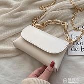 高級感法國夏天小包包女新款潮韓版百搭斜背包鏈條時尚側背包 秋季新品