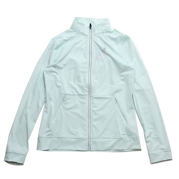 KANGOL 風衣 遮陽 輕薄 外套 水藍色 女(布魯克林) 6922143071