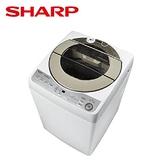 -贈全家商品卡500元- SHARP 夏普 11kg直立式無孔槽變頻洗衣機 ES-ASF11T **免費基本安裝+舊機回收**
