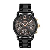 COACH 質感永恆黑鋼時尚腕錶/14502840