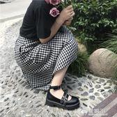 日系學院鞋日系蘿莉鞋女二次元鞋子Lolita軟妹學生洛麗塔少女可愛制服單鞋 電購3C