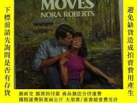 二手書博民逛書店Night罕見moves 英文原版口袋書Y109818 Robe