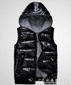 秋冬季加肥加大碼胖MM羽絨棉服200斤馬甲寬鬆棉衣寬鬆款外套潮 女 水晶鞋坊