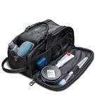 洗漱包 工廠定制大容量男士PU洗漱包男式旅行手提防水洗漱包收納包化妝包