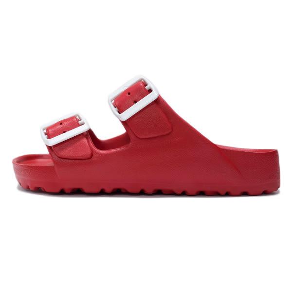 Lotto 樂得 EVA 女鞋 紅色 小紅莓 經典勃肯拖鞋 輕量 防水 台灣製 AIRWALK Birkenstock Arizona LT7AWS5622
