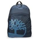 Timberland 經典品牌LOGO實用休閒後背包/電腦包/旅行包/休閒包/雙肩包(藍)851000-1