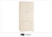 【MK億騰傢俱】BS113-04弗格森白雪杉3*6尺衣櫥