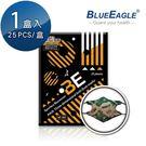 【藍鷹牌】台灣製 立體型成人防塵口罩 水針布 潮流綠 25片/盒
