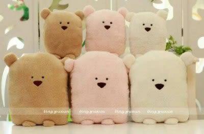 可愛熊抱枕  空調毯 三合一【潮咖範兒】