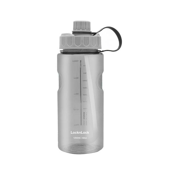 樂扣樂扣TRITAN吸管水壺1.2L大容量水瓶ABF902BLK-大廚師百貨