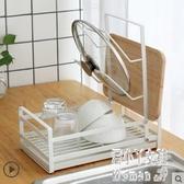 放碗碟架瀝水架廚房盤子杯子餐具碗筷收納架瀝水籃晾碗架鍋蓋架 JY6870【潘小丫女鞋】