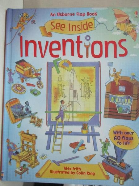 【書寶二手書T7/少年童書_EV2】See Inside Inventions_Alex Frith,Colin King (ILT)