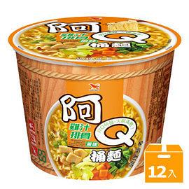 阿Q桶麵雞汁排骨風味(12碗/箱)【合迷雅好物超級商城】