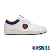 【超取】K-SWISS North Court時尚運動鞋-男-白/藍/紅
