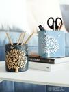 笔筒 時尚簡約可愛筆筒創意辦公桌用品筆桶學生桌面文具雜物收納盒擺件 布衣潮人